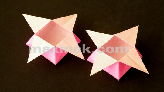 Maxmak Com Curiosidades Origami Passo A Passo Caixinha Estrela